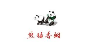 熊猫香烟LOGO设计