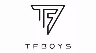 TFBOYS组合全新LOGO设计