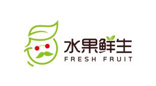 水果鲜生LOGO设计