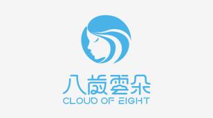 八歲雲朵LOGO设计