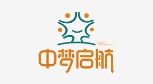 中梦启航艺术成长中心LOGO设计
