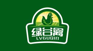 绿谷禽LOGO设计