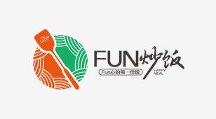 Fun炒饭LOGO设计