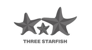 三只海星LOGO设计
