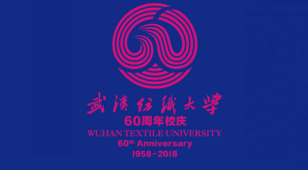 武汉纺织大学60周年LOGO设计