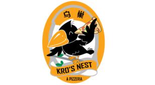 鸟巢披萨LOGO设计