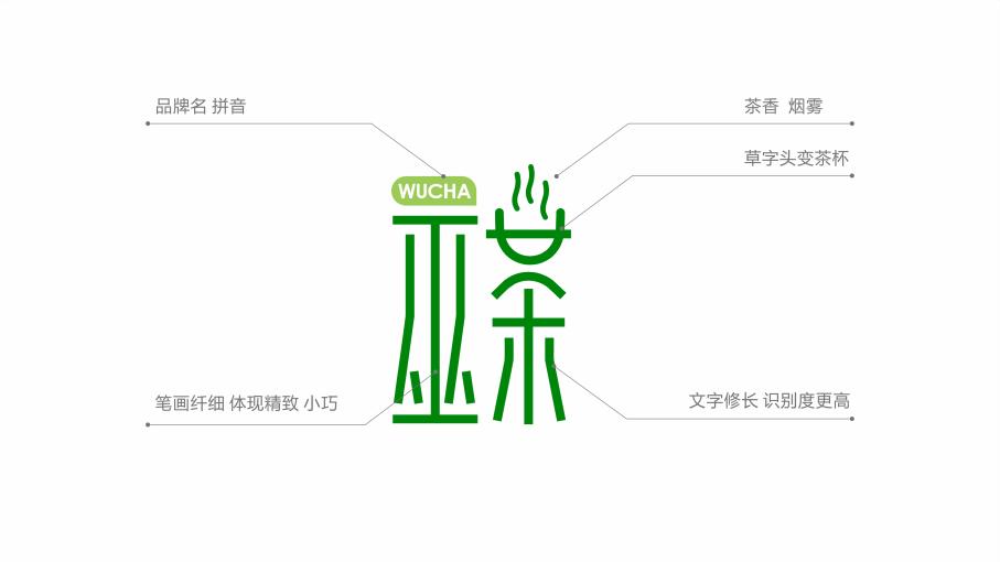 巫茶LOGO设计LOGO设计效果图4