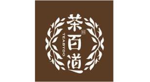 茶百道奶茶LOGO设计
