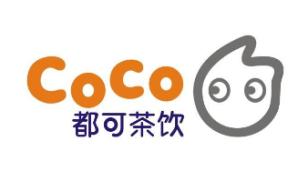 Coco都可奶茶茶饮LOGO设计