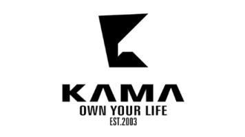 国内休闲服装卡玛-旧LOGO设计