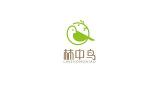 林中鸟服装公司LOGO设计