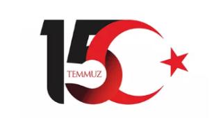 土耳其7.15民主与民族团结日纪念活动LOGO设计