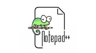文本编辑器Notepad++LOGO设计