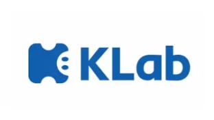 日本手机游戏开发商KLab株式会社LOGO