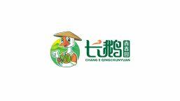 农产品电商品牌logo设计—1、卡通  2、中文字体LOGO设计